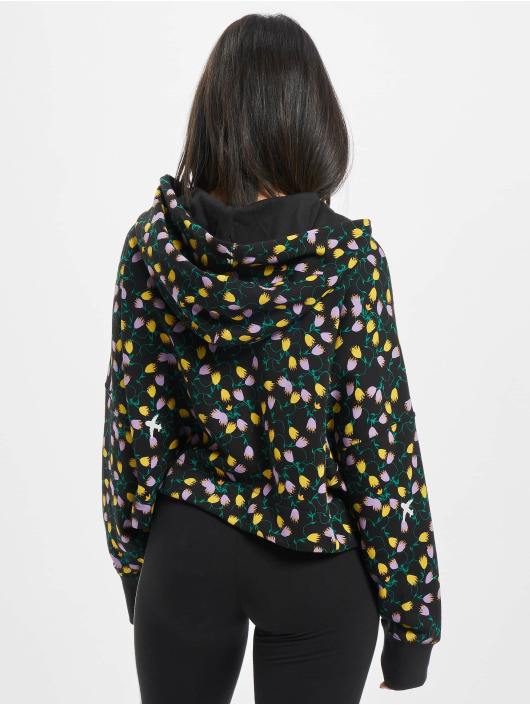 adidas Originals Hoodie All Over Print Crop colored