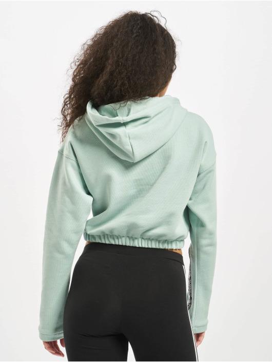 adidas Originals Hoodie Cropped green