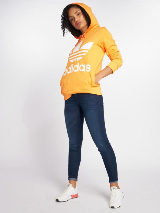 adidas originals Hoodie Trefoil orange