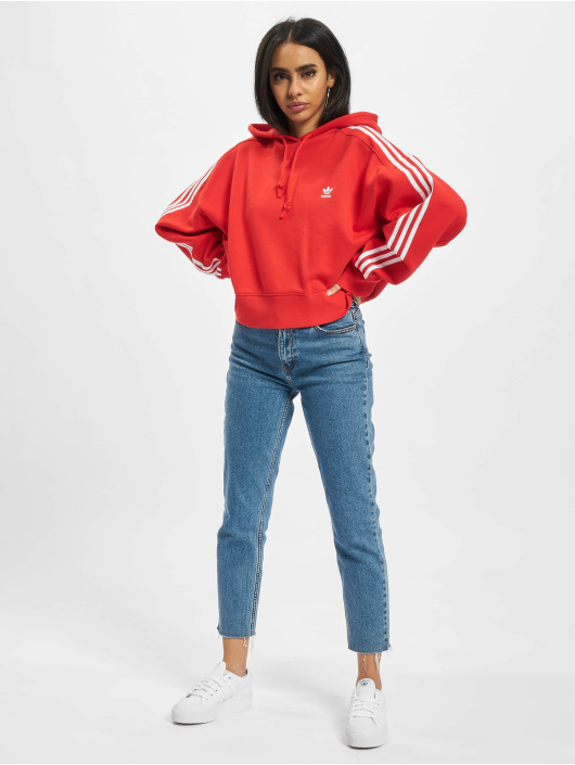 adidas Originals Hoodie Short red