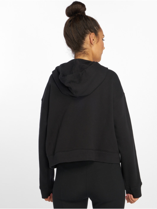 adidas originals Classico Cropped Hoody Black
