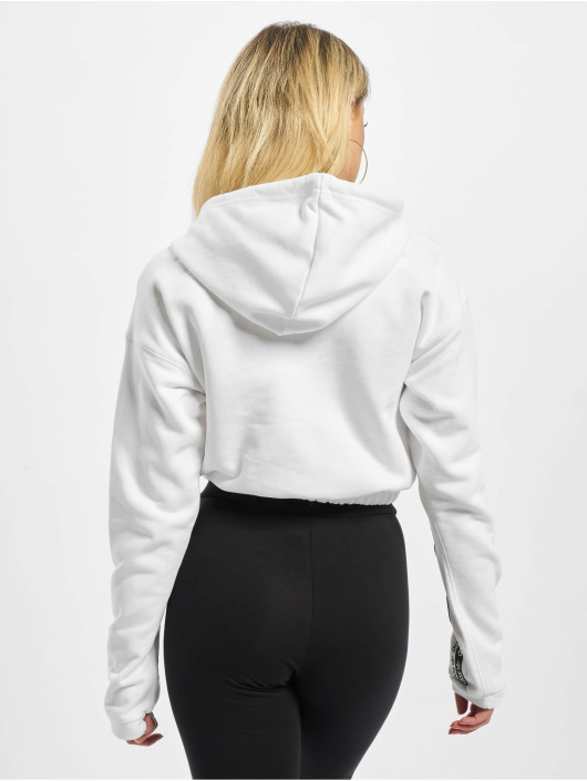 adidas Originals Cropped Hoody White
