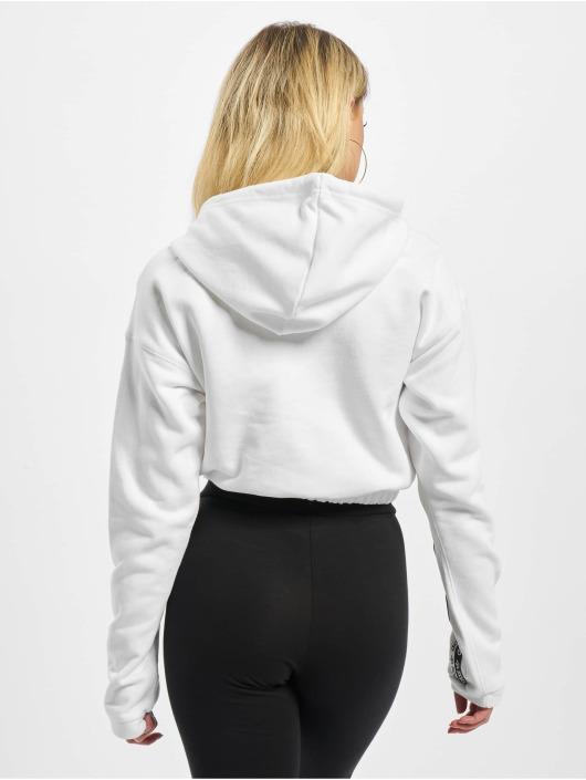 adidas Originals Hoodie Cropped white