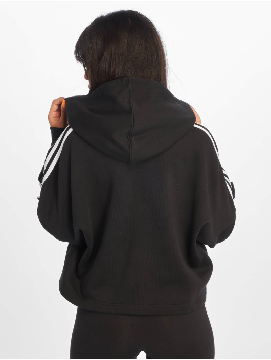 adidas Originals Hoodies Cropped čern