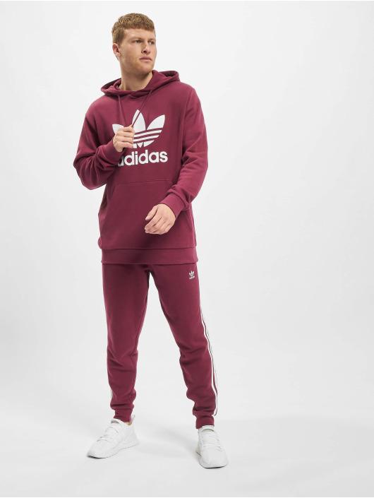 adidas Originals Hoodies Trefoil červený