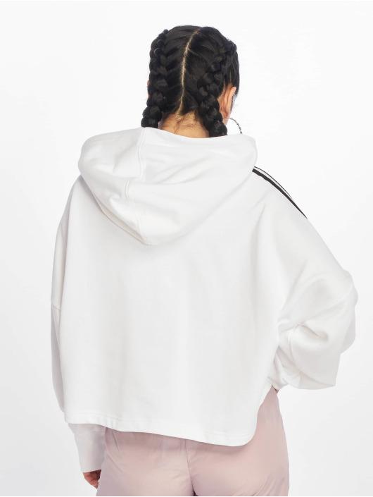 adidas Originals Hoodies Cropped bílý