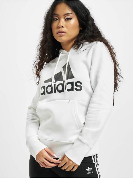 adidas Originals Hoodies Badge of Sport Overhead bílý
