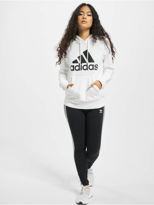 adidas Originals Hoodies Badge of Sport Overhead hvid