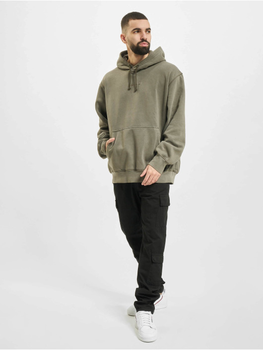 adidas Originals Hoodies Dyed olivový