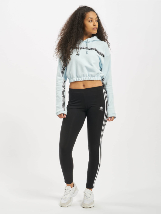 adidas Originals Hoody Cropped blau