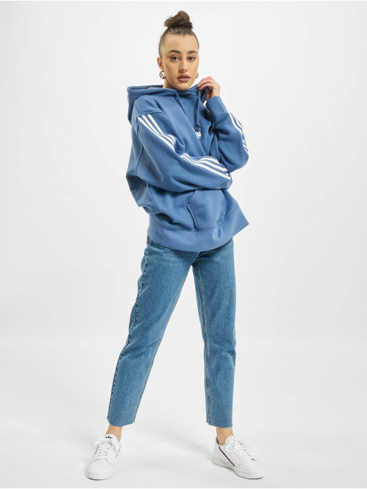 adidas Originals Hoody Oversized blau