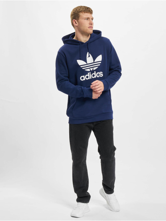 adidas Originals Hoody Trefoil blau