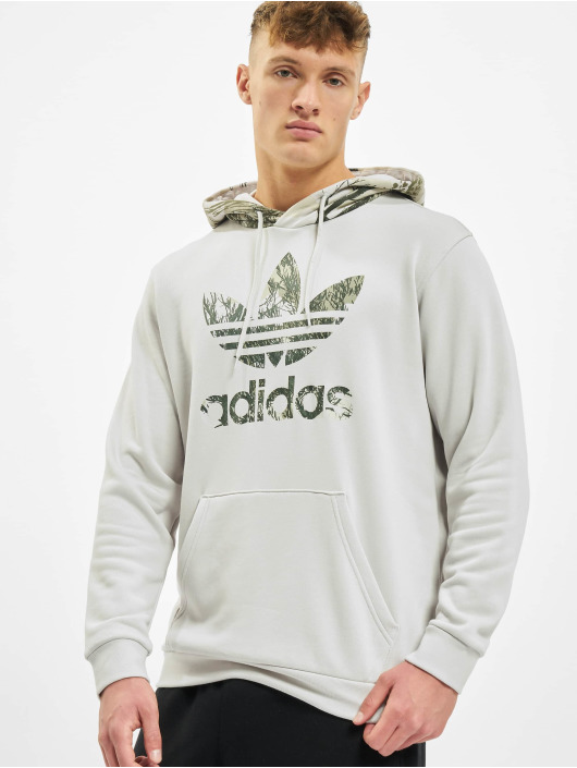 adidas Originals Hoody Camo grijs