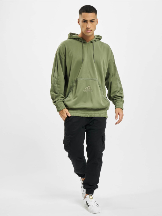 adidas Originals Hoody Cross Up 365 groen