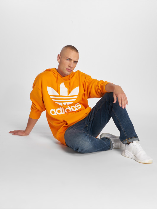 adidas originals Hoody Tref Over Hood orange
