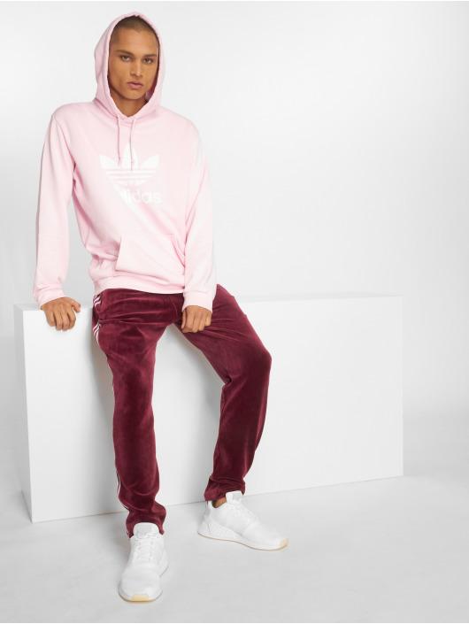 adidas originals Hoody Trefoil Hoody pink