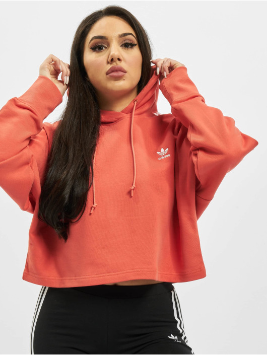 adidas Originals Hoody Cropped rot