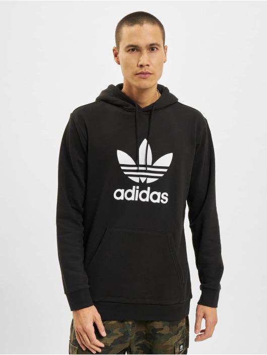 adidas originals Hoody Trefoil Hoodie schwarz