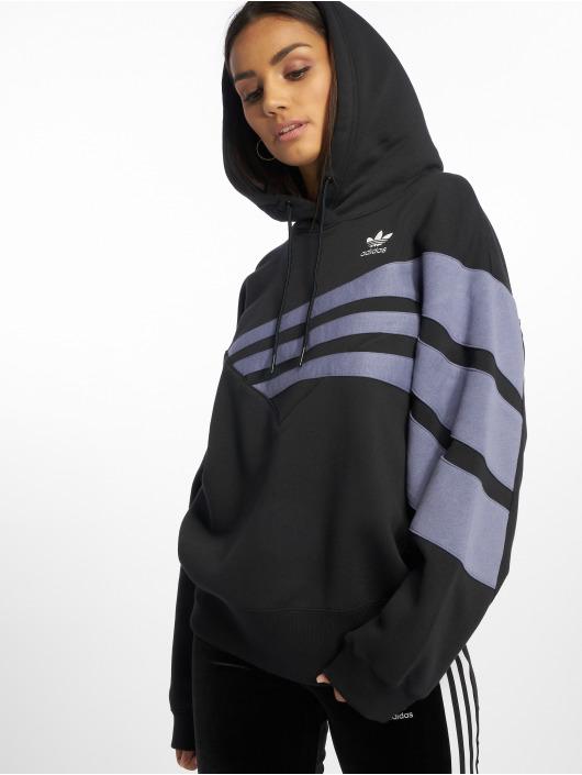 adidas originals Hoody diagonal schwarz