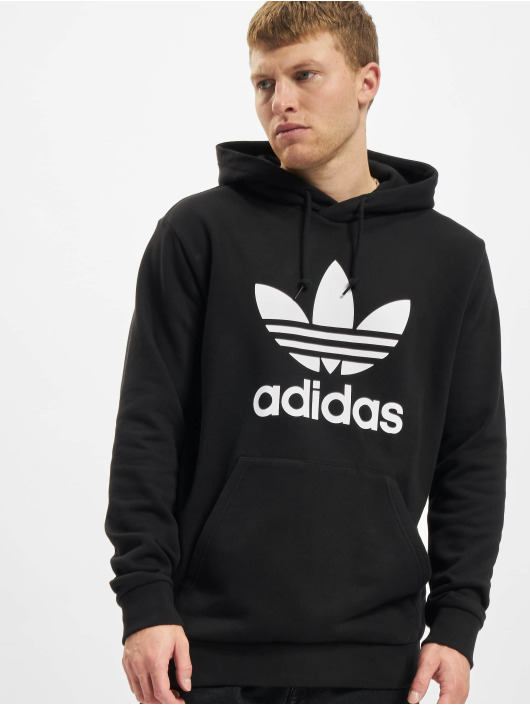 adidas Originals Hoody Trefoil schwarz
