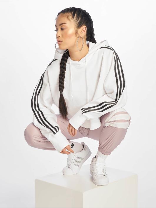 adidas Originals Hoody Cropped wit