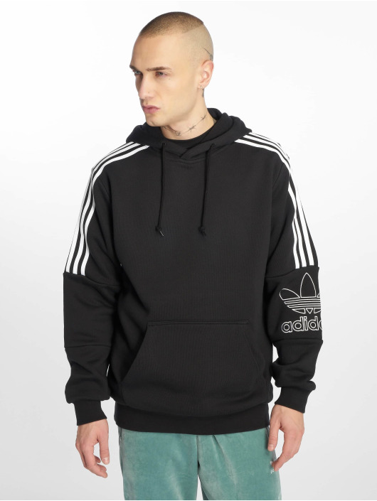adidas originals Hoody Outline zwart