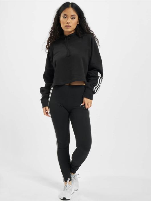 adidas Originals Hoody Cropped zwart