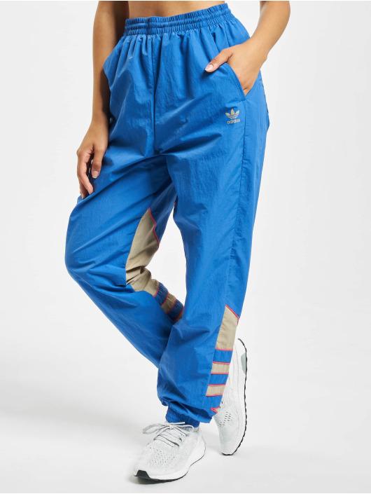 adidas Originals Joggebukser Big Trefoil Track blå