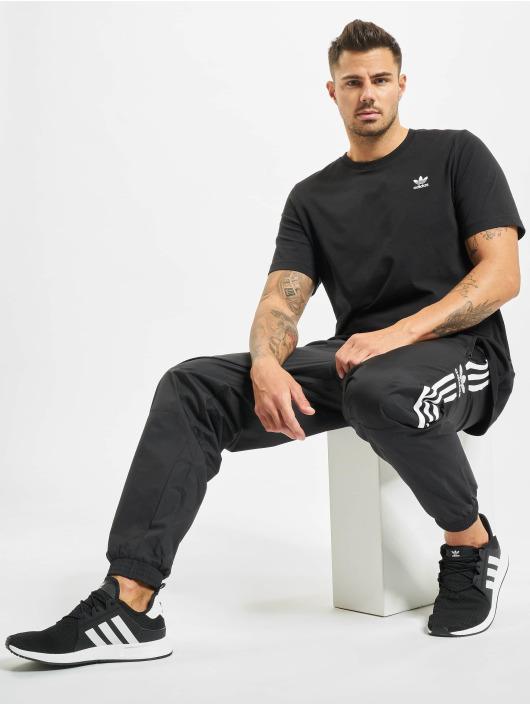 adidas Originals Joggebukser Lock Up svart