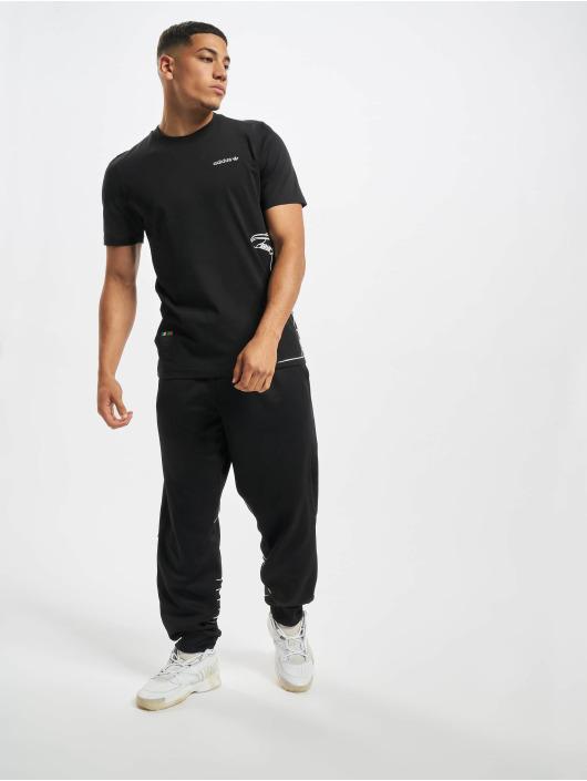 adidas Originals Joggebukser Big Trefoil Out Polytrico svart