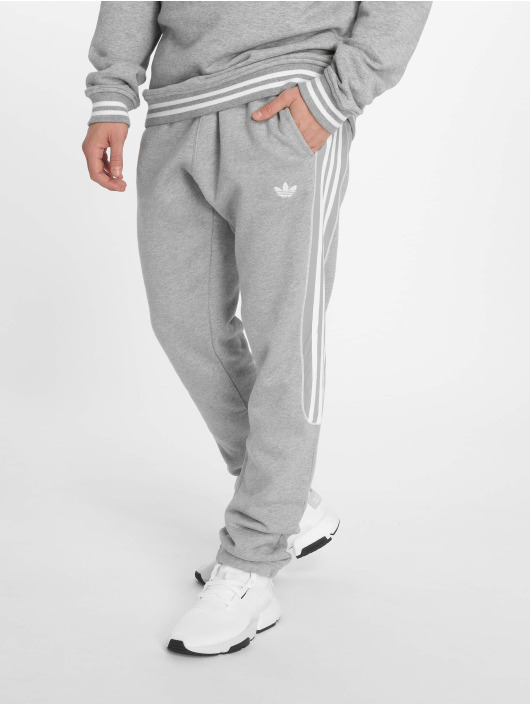 fast delivery uk cheap sale special section Adidas Originals Radkin Sweat Pants Medium Grey Heather