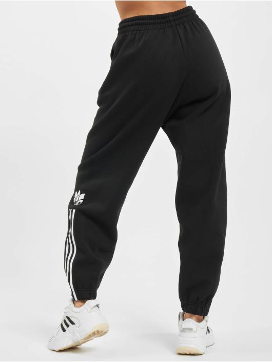 adidas Originals Jogging kalhoty Fleece čern