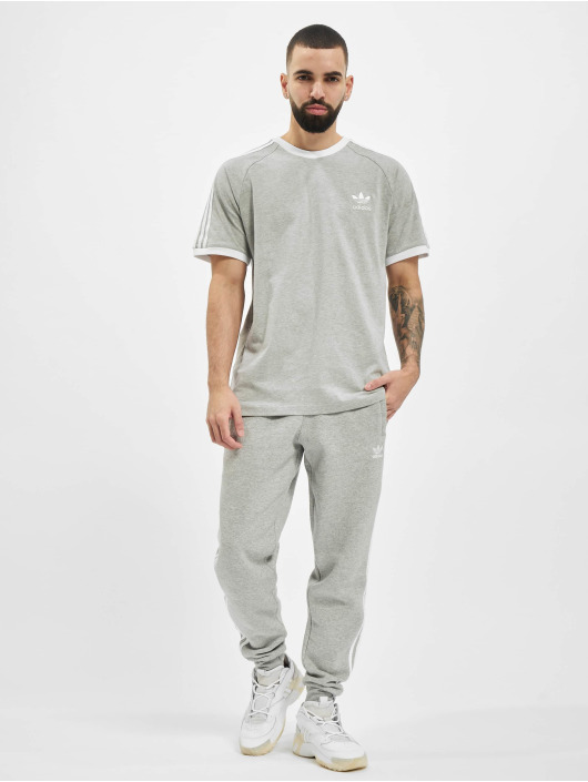 adidas Originals Jogging kalhoty 3-Stripes šedá
