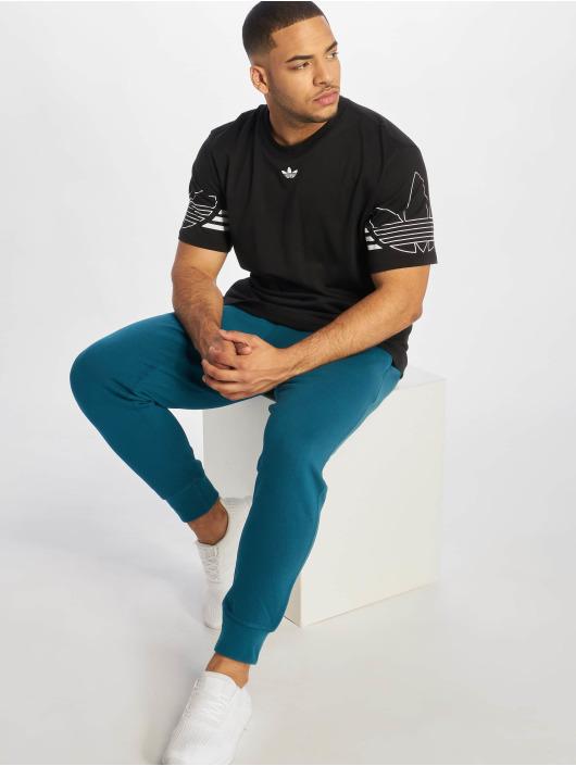 adidas originals Jogging kalhoty Kaval modrý