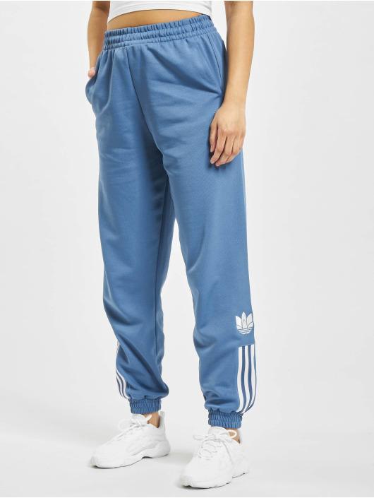 adidas Originals Jogging kalhoty Track modrý