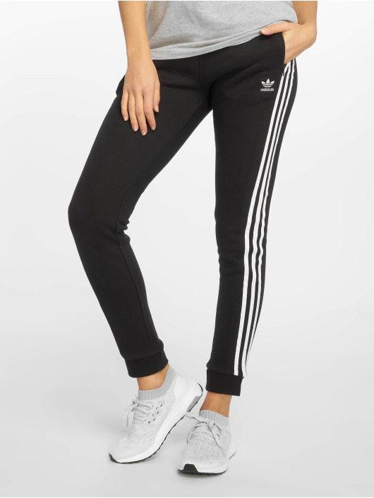 894278556feb5 adidas originals | Regular Cuffed noir Femme Jogging 599038