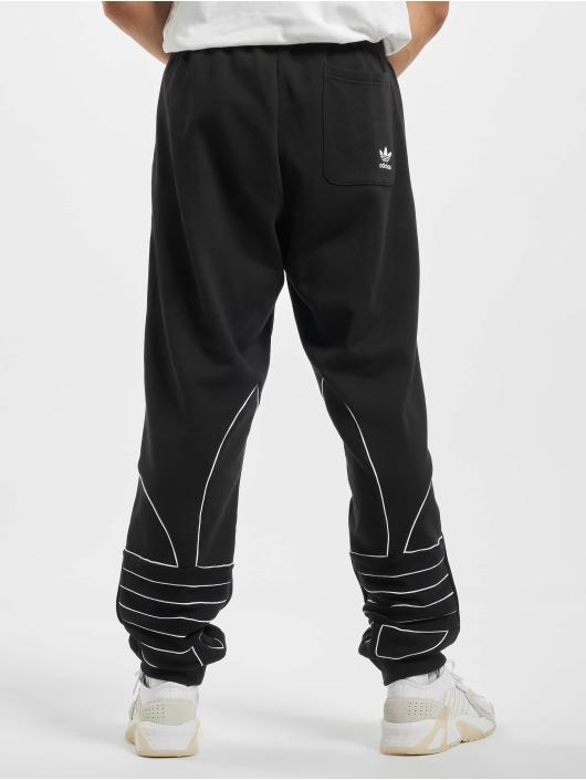 adidas Originals Jogging Big Trefoil Outline noir