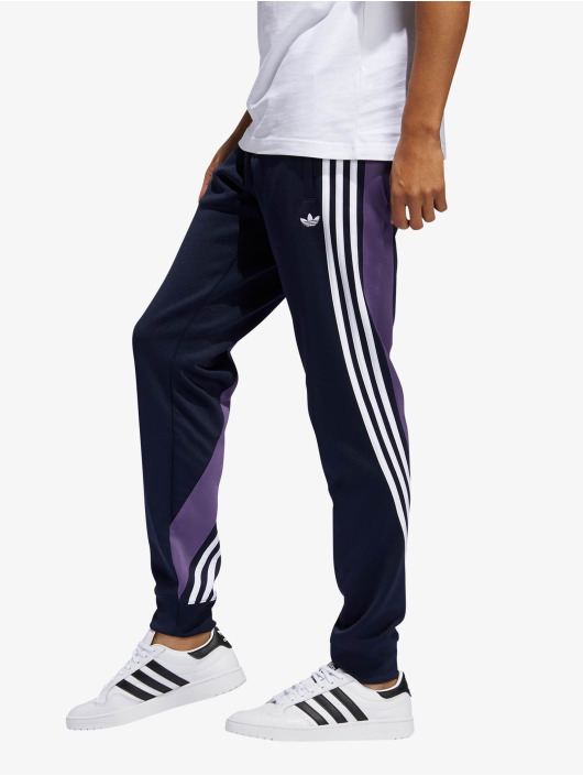 adidas Originals joggingbroek 3stripe blauw