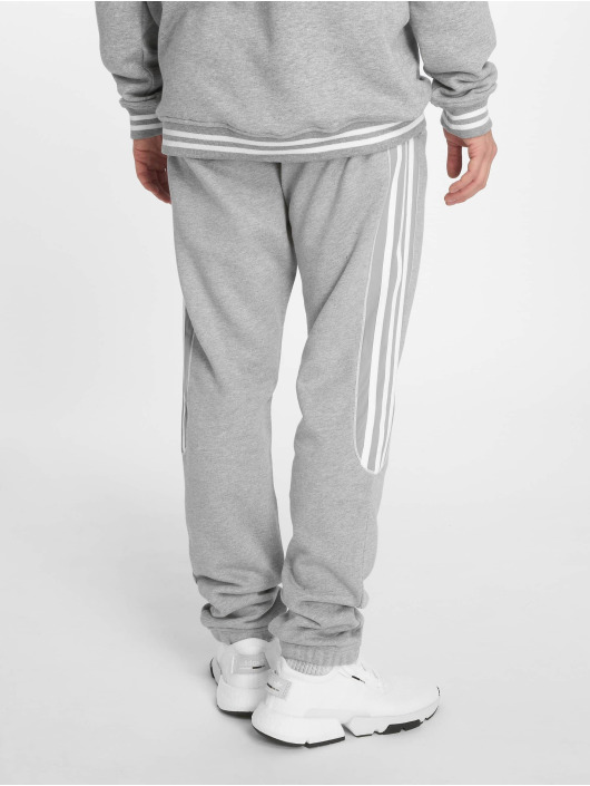 Adidas Originals Radkin Sweat Pants Medium Grey Heather