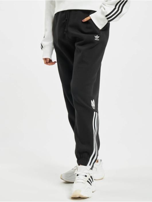 adidas Originals Joggingbyxor Fleece svart