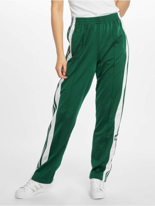 80614c897d1b9c adidas originals Damen Jogginghose Adibreak in grün 543505