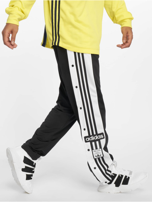 speical offer best sell new high quality Adidas Originals Snap Sweat Pants Black
