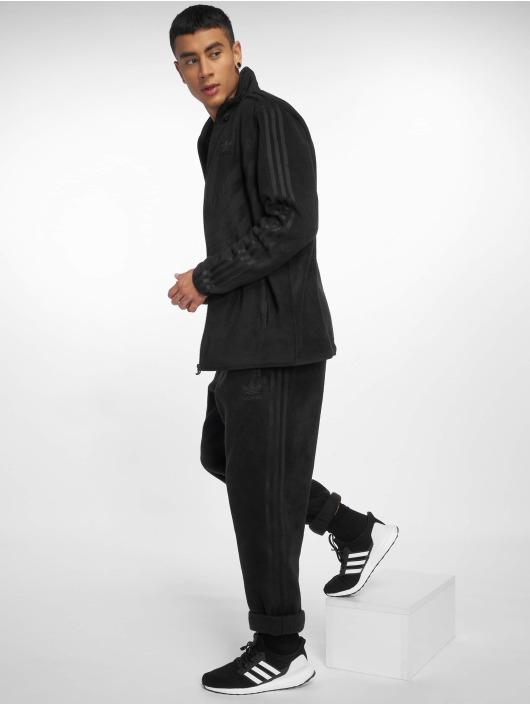 adidas originals Jogginghose Pfleece schwarz