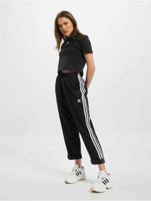 adidas Originals Jogginghose Relaxed Boyfriend schwarz