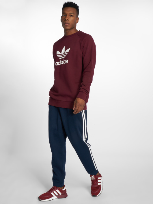 adidas originals Jumper Trefoil Crew red