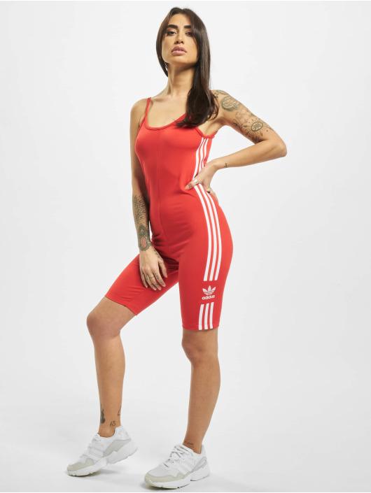 adidas Originals Jumpsuits Cycling czerwony