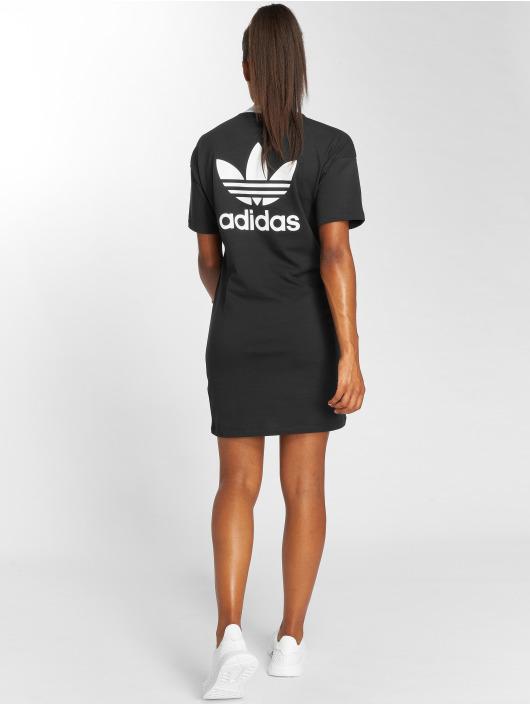 adidas originals jurk Trefoil zwart