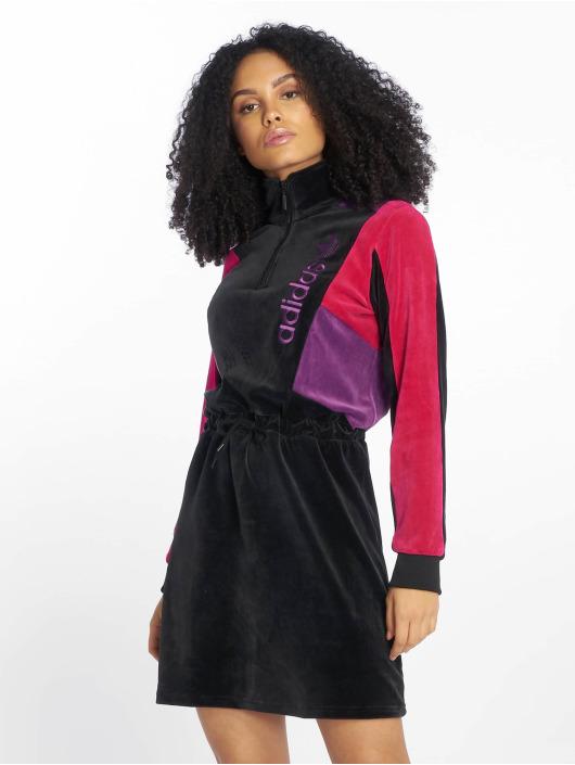 adidas originals jurk Colorblock zwart