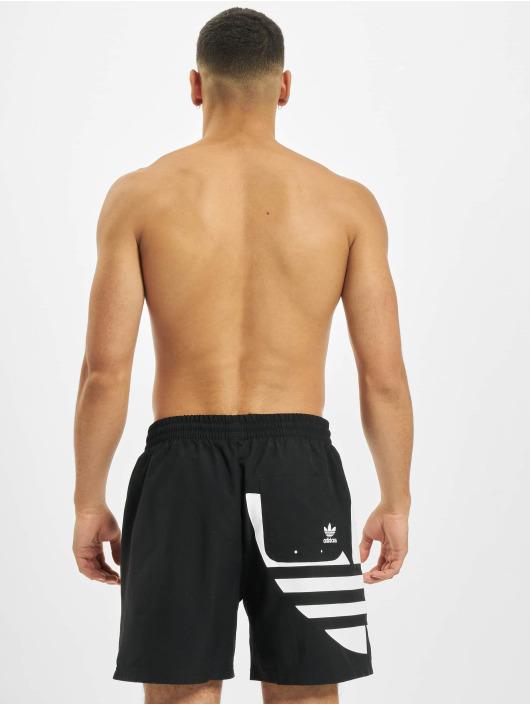 adidas Originals Kúpacie šortky Big Trefoil Swim èierna