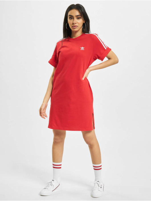 adidas Originals Kleid T-Shirt rot